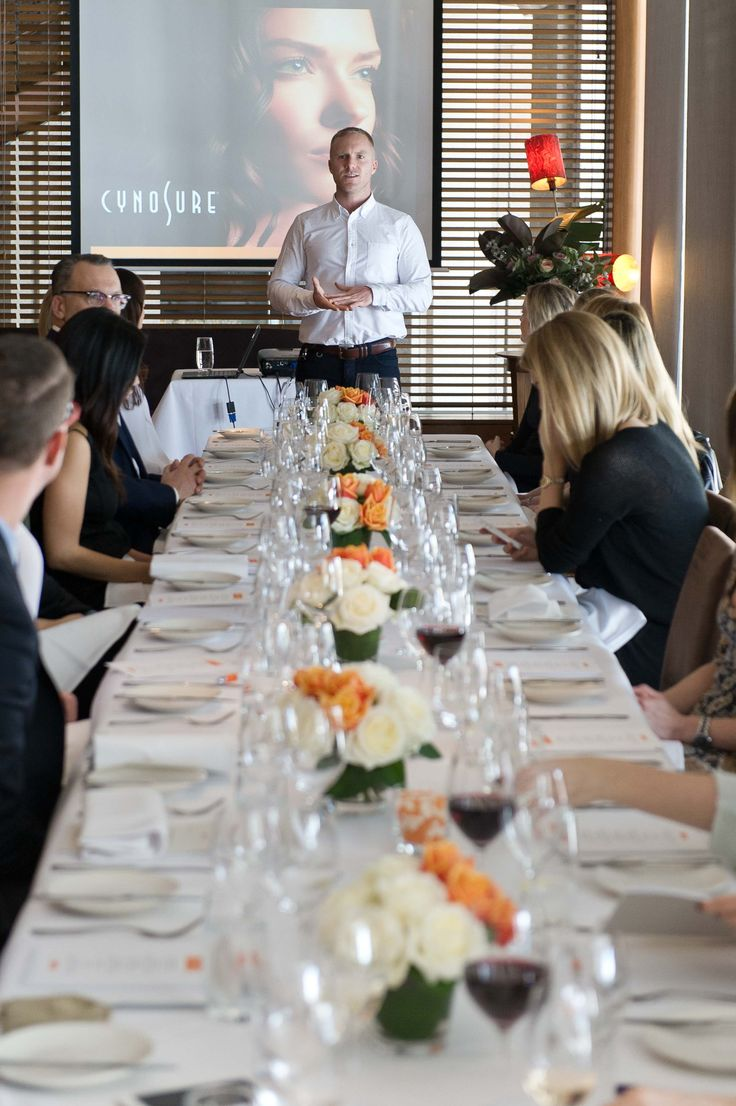 Cynosure Launch Event at ARIA Private Dining Room