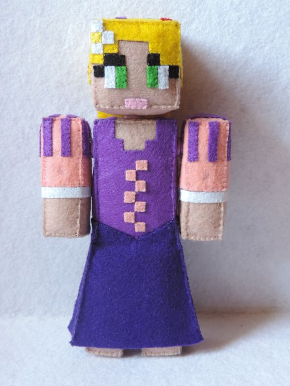 """""""Rapunzel"""" SkinDoll basado en un personaje de Disney."""