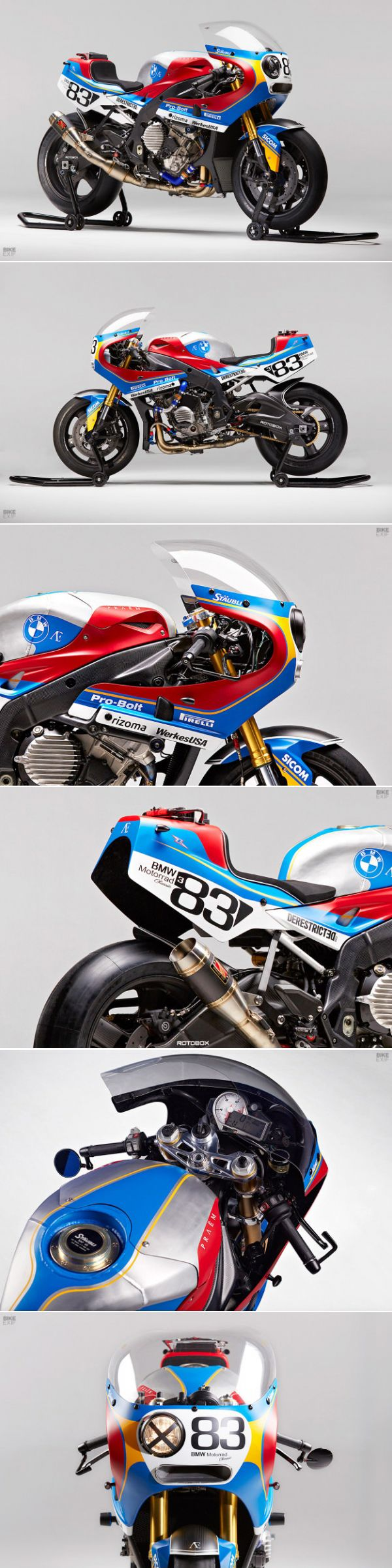 PRAËM x BMW S 1000 RR: The Pursuit Of Perfektion