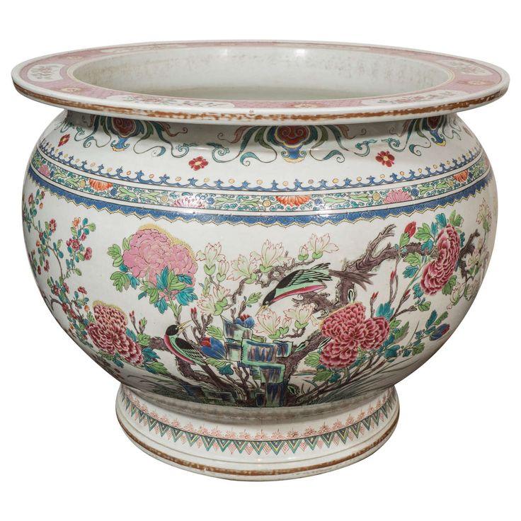 48 best jardiniere images on pinterest enamels isomalt for Decorative fish bowls