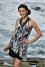 Black & White Mastectomy Dress