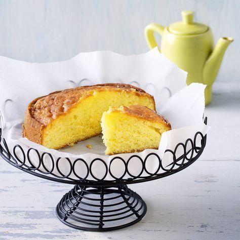 Eigentlich ist Zitronenkuchen einer der trockenen Kuchen, aber das ist …   – Ideen für die Küche  zum Backen, kochen, verzieren,…