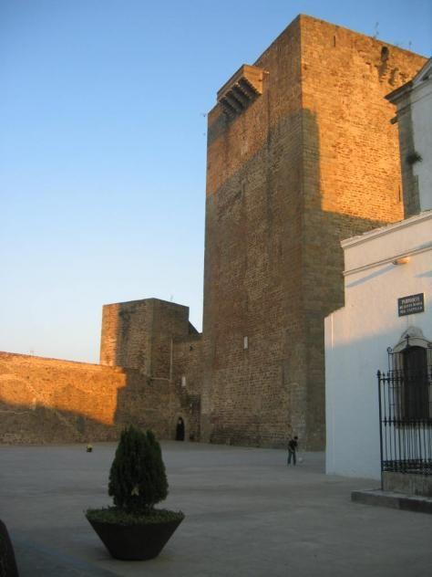 La Gran Torre defensiva de Olivenza.