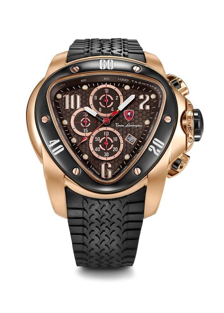 b4aa110c44db Tonino Lamborghini Spyder 1500 1506 Chronograph Jumbo Mens Watch ...