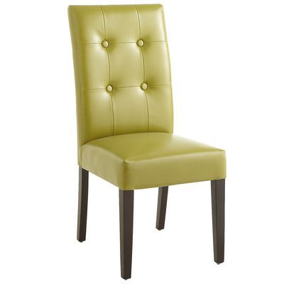 Mason Bonded Leather Dining Chair - Avocado...meet my desk chair... : )