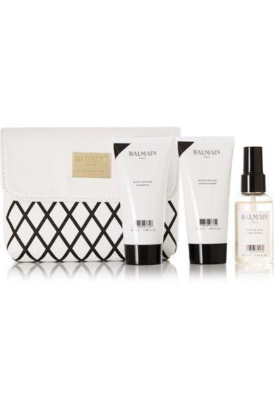 Balmain Paris Hair Couture - Moisturizing Travel Set - White - one size