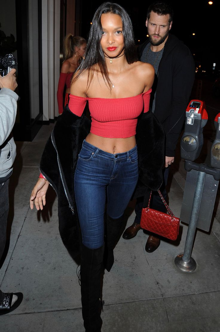 """celebsofcolor: """"Lais Ribeiro out and about in LA. """""""