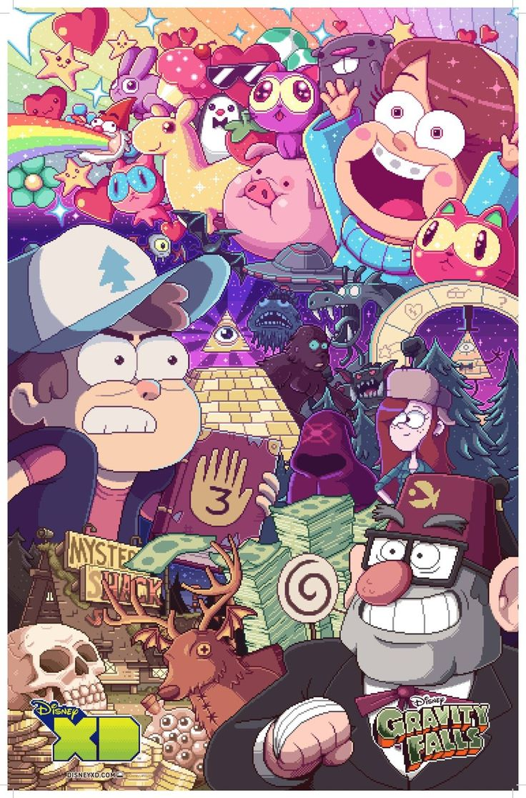 To prep for the new episodes (tonight!) one of our editors just watched Gravity Falls for the first time.