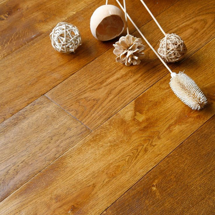 Colours Rondo Wheat Solid Oak Flooring Oak Effect 1.18m² Pack | Departments | DIY at B&Q