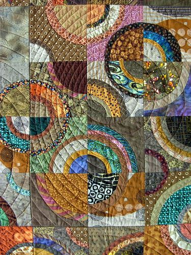 Out Far, In Deep: Quilt by Wendy Hill from Pennsylvania National Quilt Extravaganza