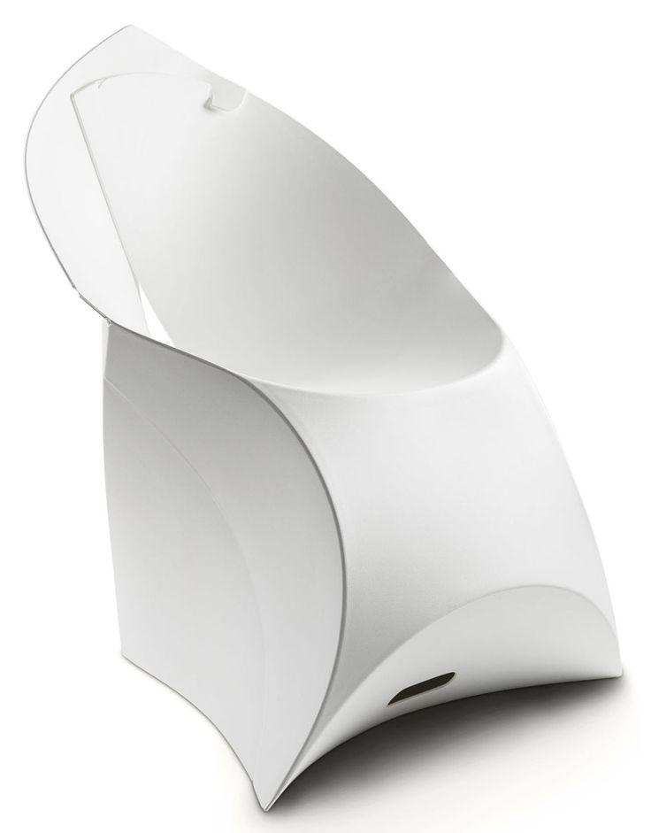 Klappsessel Flux Chair, Weiß von Flux finden Sie bei Made In Design, Ihrem Online Shop für Designermöbel, Leuchten und Dekoration.