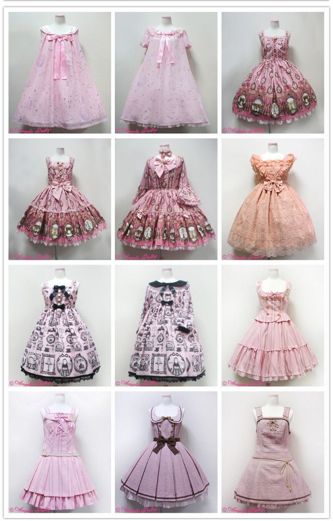 Angelic Pretty 2014 - A Year in Pink