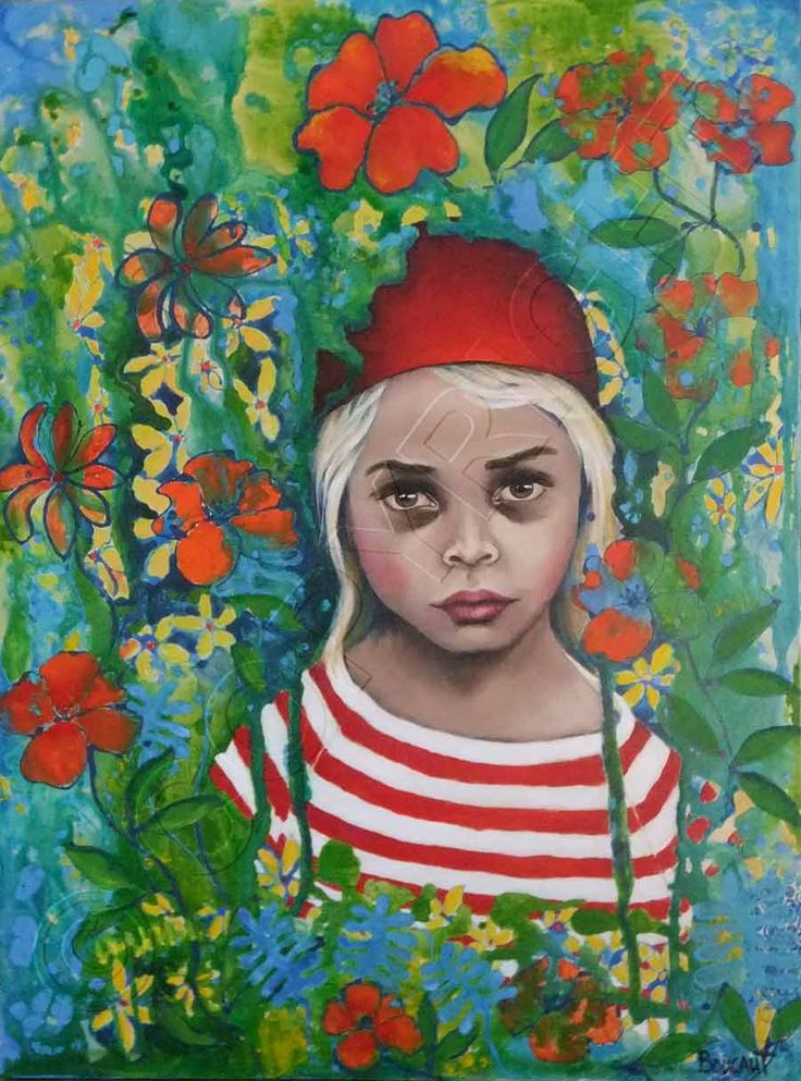 """My Red Hat"" by Jakki Boucaut"