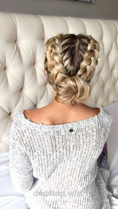 20 Easy holiday hairstyles for medium to long length hair…