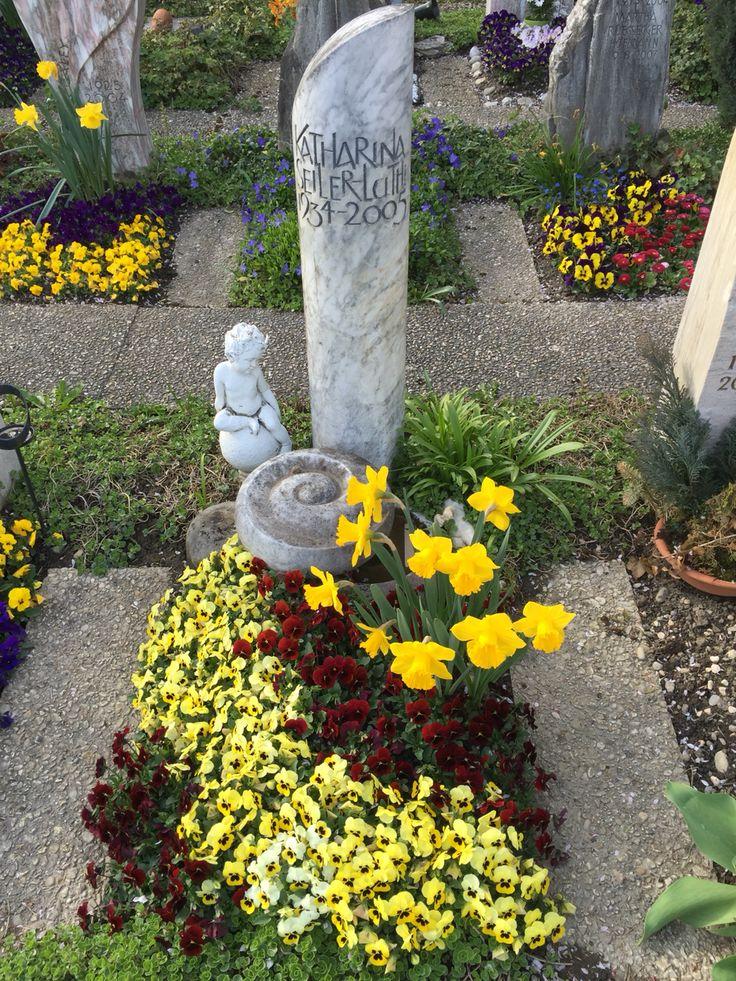 61 besten Grabbepflanzung Bilder auf Pinterest - garten blumen gestaltung