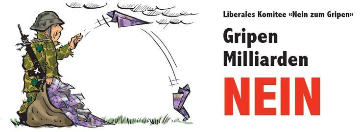 """Liberales Komitee """"Nein zum Gripen"""" - Home"""
