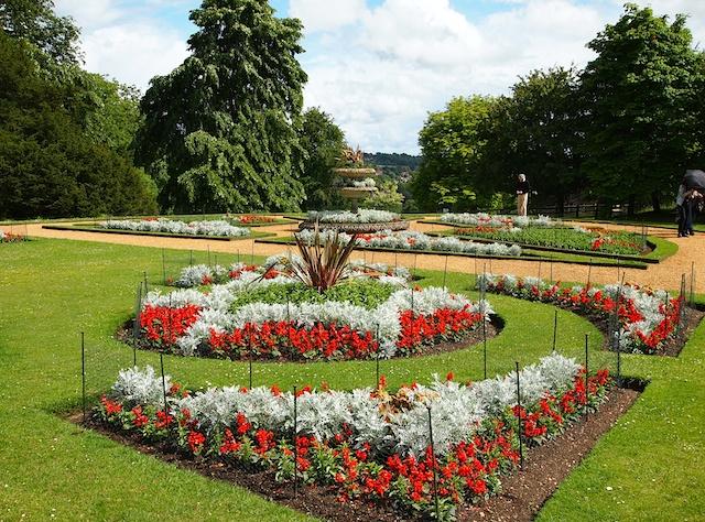 Hughenden Manor Gardens - Buckinghamshire - England