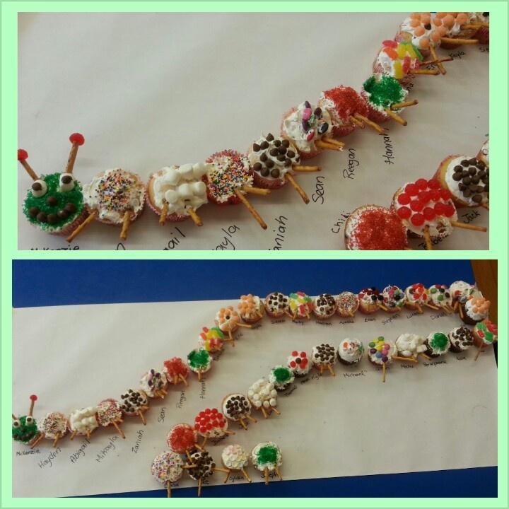 Cupcakes Caterpillar