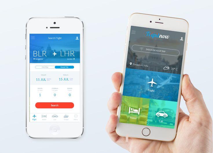 Mobile APP - Flight, Hotel, Car, etc. Bookings