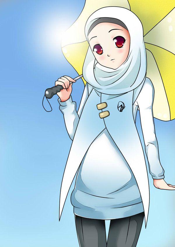 Muslimah_anime_manga_hijab_mohajabbah