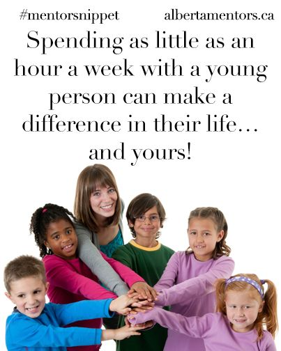 Spending as little as an hour a week with a young person can make a difference in their life…and yours! Related
