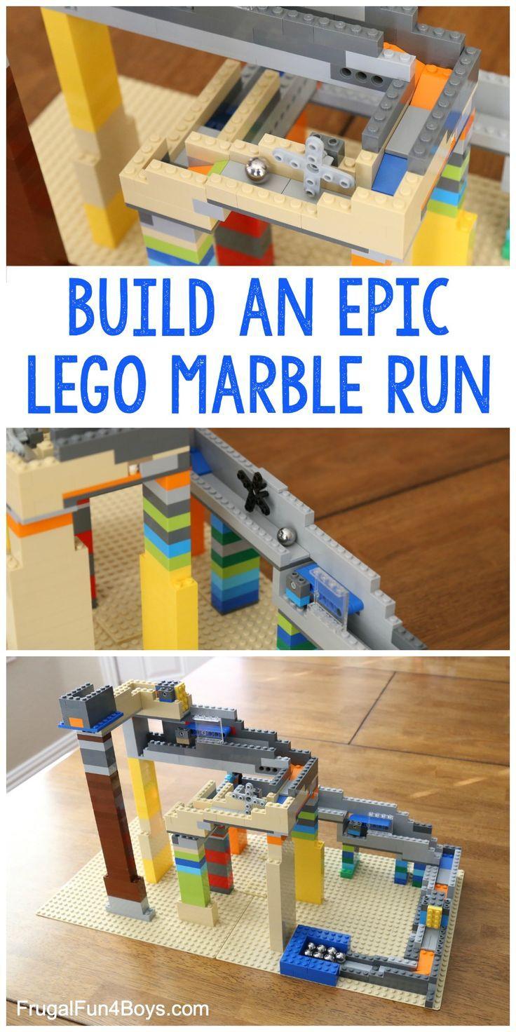 Wie baue ich einen EPIC LEGO Marble Run? #einen #…