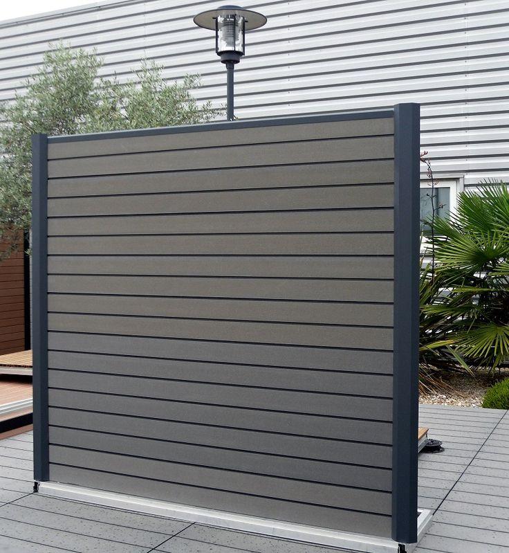 panneau separation jardin composite. Black Bedroom Furniture Sets. Home Design Ideas