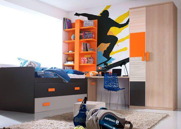 Dormitorio juvenil 545 5152012 chicos dormitorios - Habitaciones juveniles para chicos ...