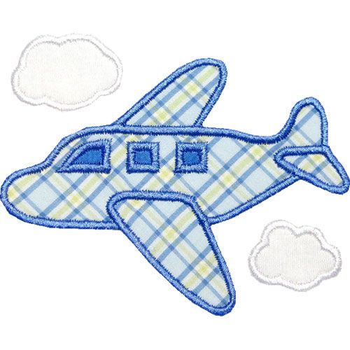 Airplane Applique By Happyapplique Com Sewing And Crafts