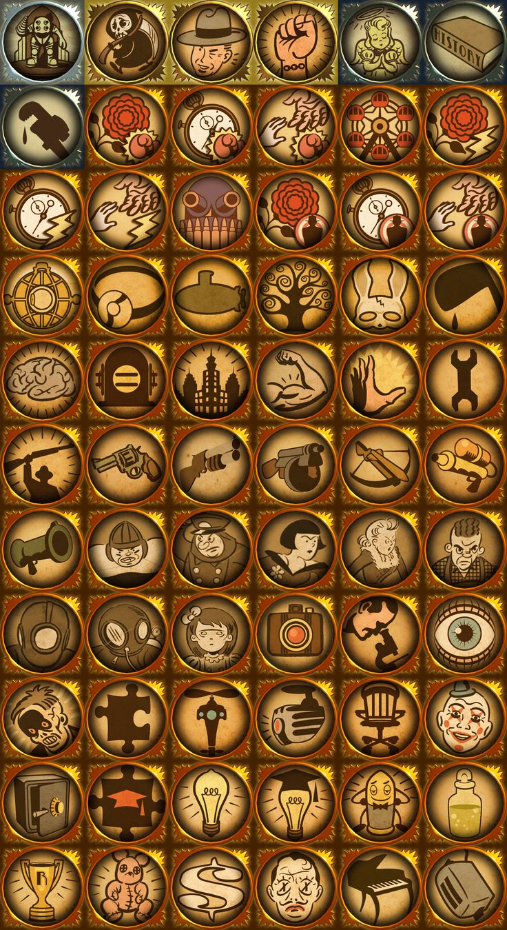 Bioshock Trophies The iconography could be used for various wedding things