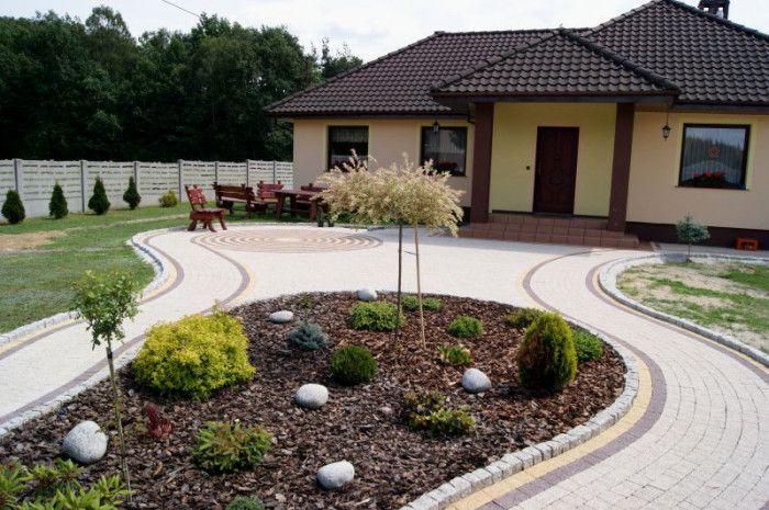 Kostka dekoracyjna Granit Płaski w kolorze Płukany Biały - http://kostbet.pl/?page_id=955