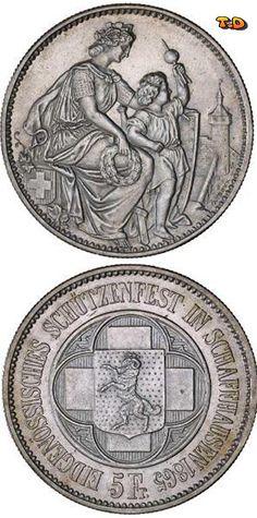 N♡T. 5 Franc  Metal: Silver  State: Switzerland
