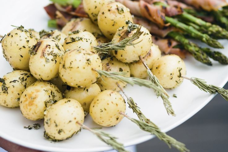 Looking for new ideas with potato? Try these tasty rosemary skewers.