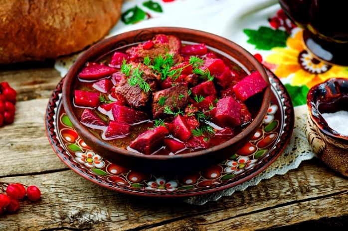 Сытные и вкусные блюда украинской кухни