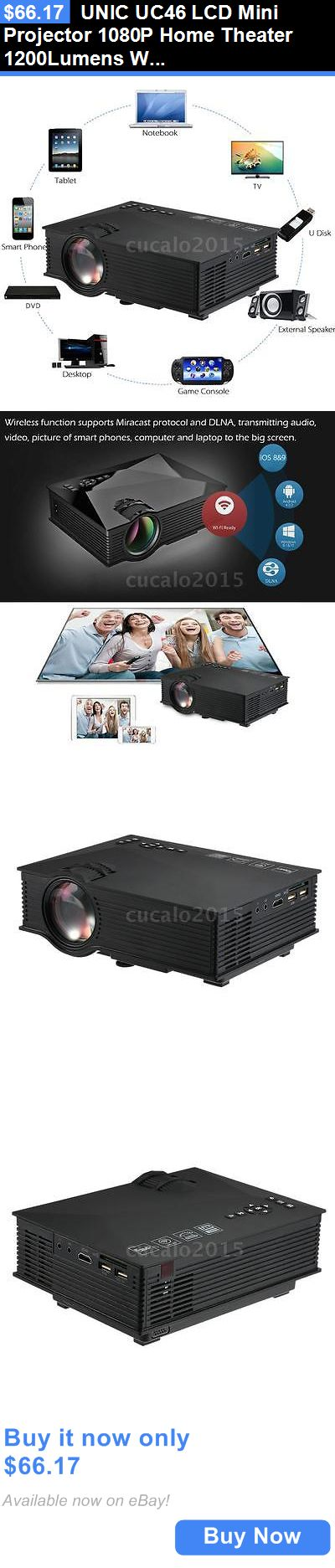 tv projector 1080p hd wifi home theater with screen