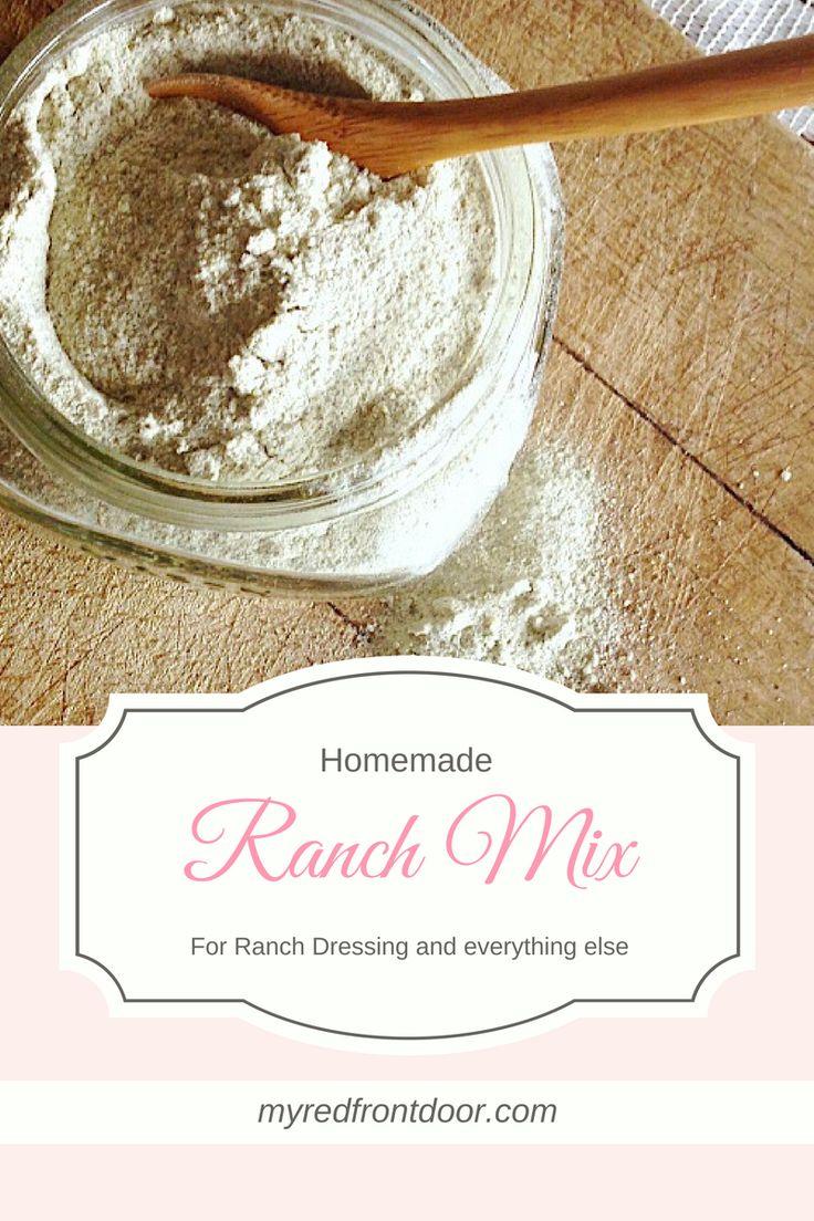 DIY Ranch Dressing, Homemade Ranch Dressing, Homemade Ranch Powder, Ranch Mix, Dry Ranch Mix