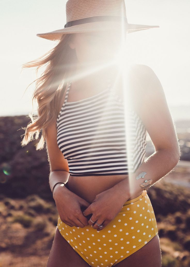 {The Weekender Crop Top + Sunkissed High Waisted Bottoms}