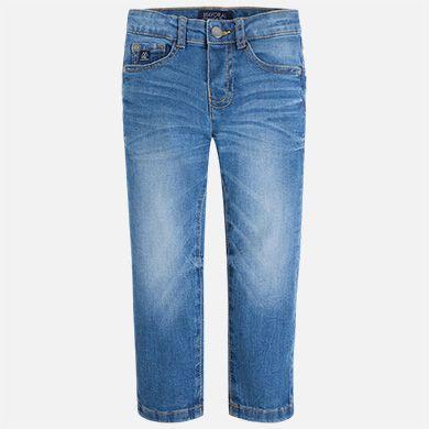 Pantalón vaquero de niño regular fit Básico - Mayoral
