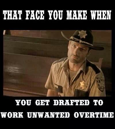 UNWANTED OVERTIME FACE Law Enforcement Today www ...