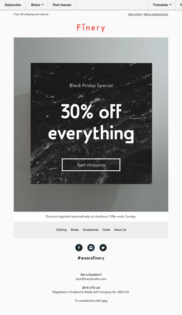 48 best Email Ideas images on Pinterest | Email design, Bones and ...