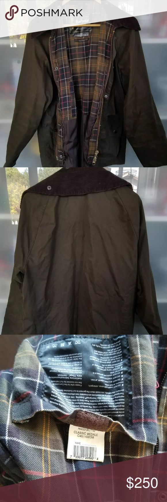 Barbour Bedale Olive Green Waxed Jacket Lovely jacket. Worn 10 times. Barbour Jackets & Coats