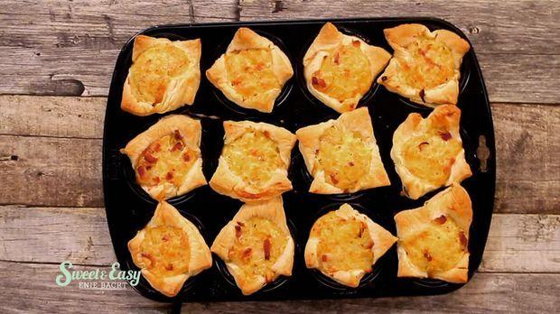 Zwiebelkuchen Muffins - Sweet & Easy - Enie backt - sixx