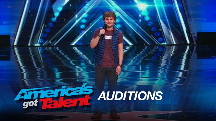 Drew Lynch: Stuttering Comedian Wins Crowd Over - America's Got Talent 2015 : He made me laugh real hard and also cry real hard