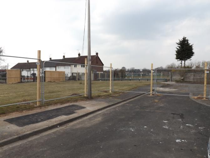 Browning Close/Dryden Grove/St John's Road, Huyton  (On-site photo) - Browning/Dryden/St Johns is a one build contract made up of 3 sites in close proximity to each other in Huyton.