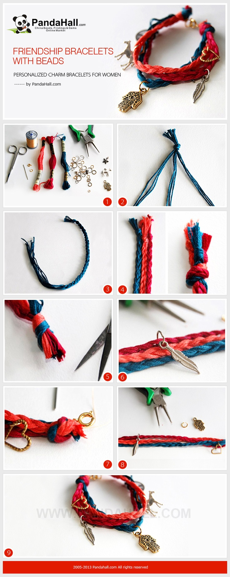 Today We Demonstrate You A Handson Way To Make Friendship Bracelets With  Beads;
