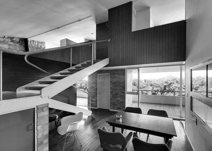 Harry Seidler, Thurlow House, pinned by Secret Design Studio, Melbourne. www.secretdesignstduio.com