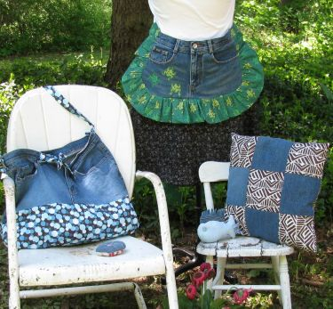 Recycle Your Jeans into Great Projects!