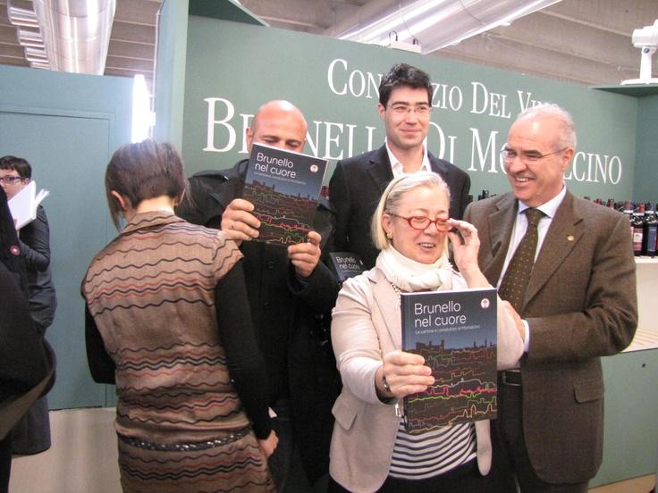 Donatella Cinelli Colombini con Fabrizio Bindoci, Alexander Brookshaw e Gabriele Gorelli