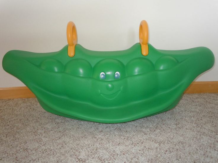Chicco Peas in Pod teeter totter seesaw RARE for little tikes to ride on Not 100% sure it is Little Tikes, but I still love it!