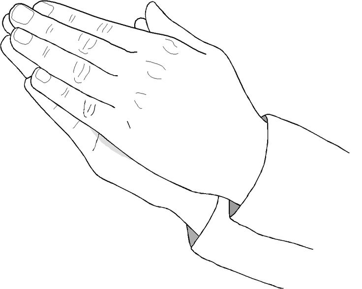12 best images about compassion on pinterest abc for Helping hands coloring page